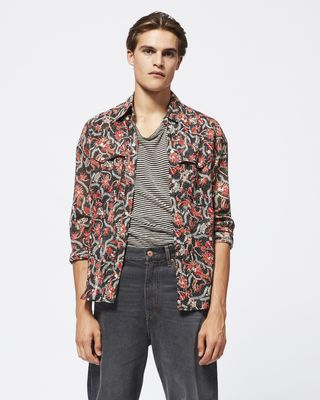 ISABEL MARANT SHIRT & BLOUSE Man NICSON shirt r