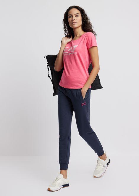 Tシャツ フレームジャージー製 マキシロゴ