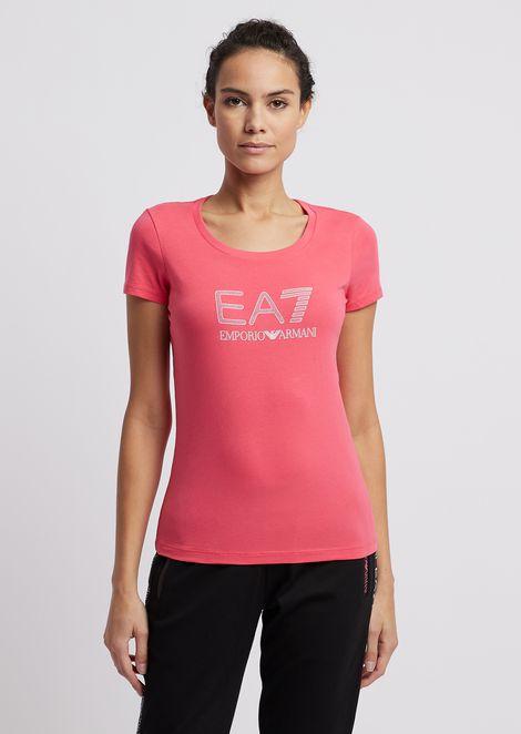 Tシャツ ストレッチジャージー製 マキシロゴ