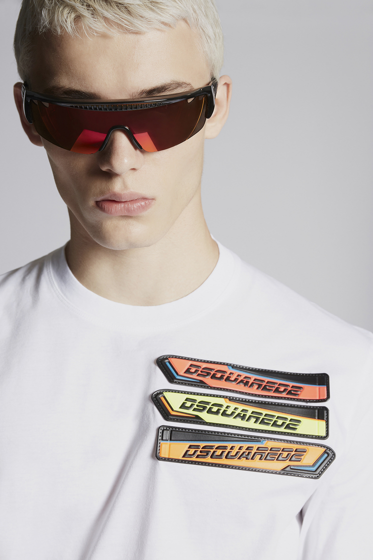 DSQUARED2 Patches T-Shirt Short sleeve t-shirt Man