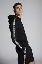 DSQUARED2 Dsquared2 Tape Cotton Zipped Sweatshirt Футболка Для Мужчин