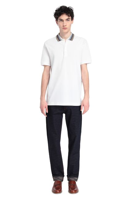 MISSONI Men's polo White Man - Front