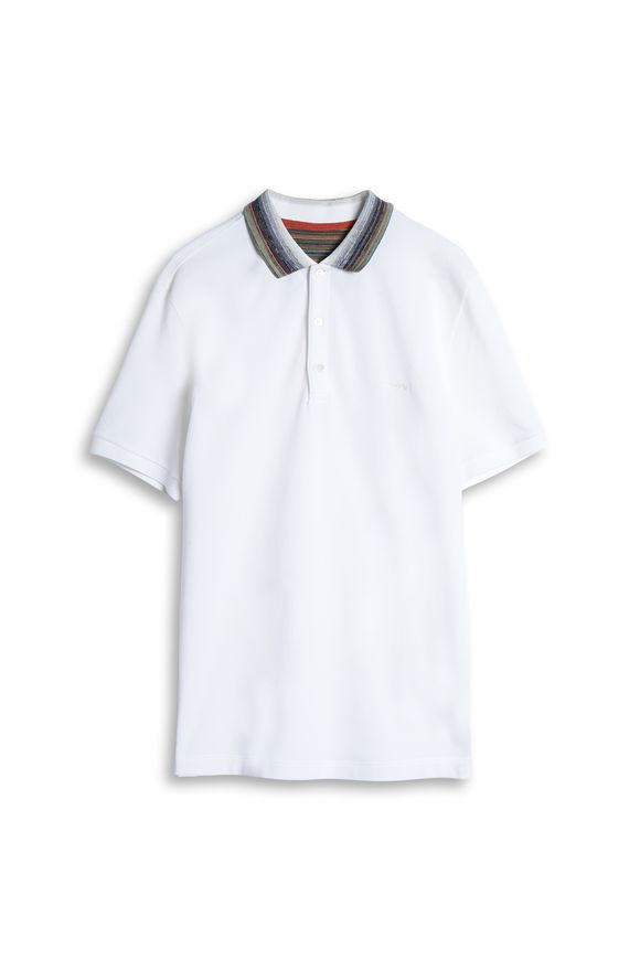 MISSONI Men's polo White Man