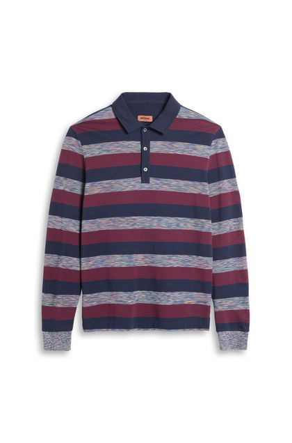 MISSONI Men's polo Purple Man - Back