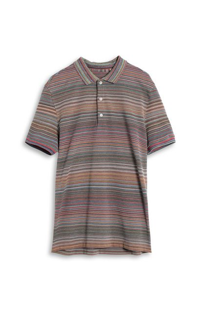 MISSONI Men's polo Brown Man - Back