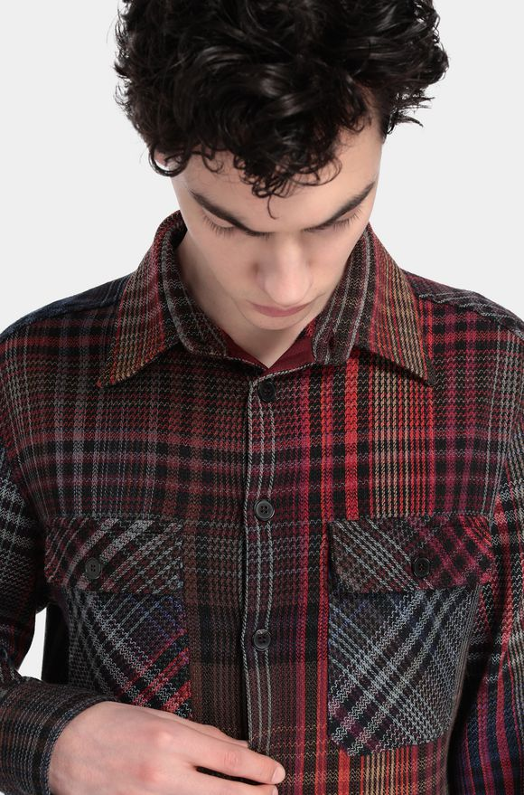 MISSONI Men's shirts Garnet Man