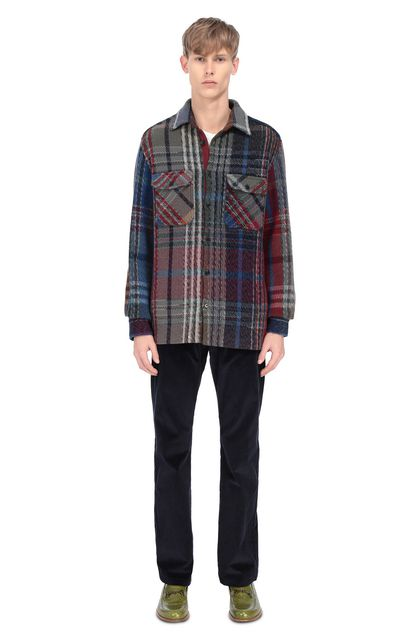 MISSONI Men's shirts Blue Man - Front