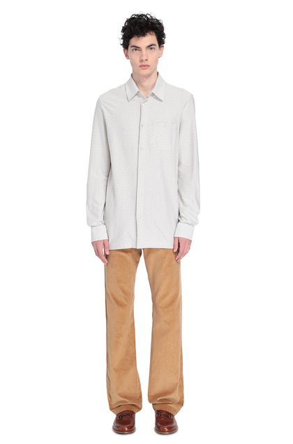 MISSONI Men's shirts White Man - Front