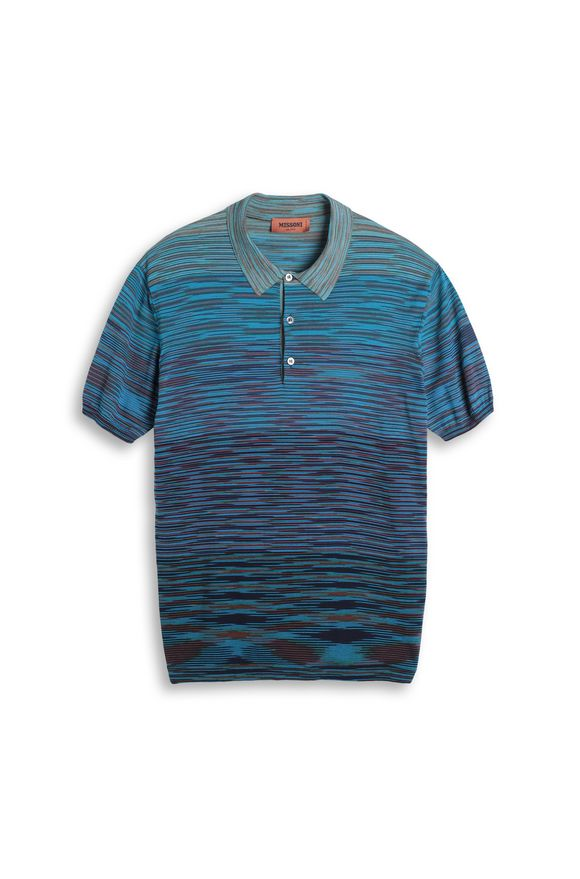 MISSONI Men's polo Man, Frontal view
