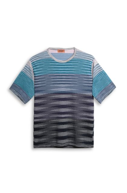 MISSONI Men's T-Shirts Lilac Man - Back