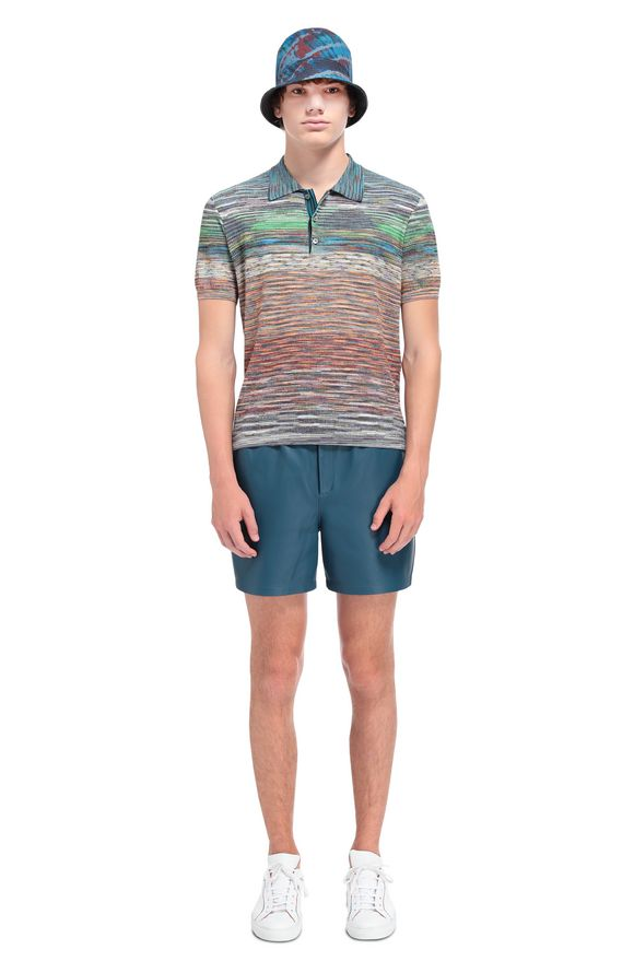 MISSONI Men's polo Man, Rear view