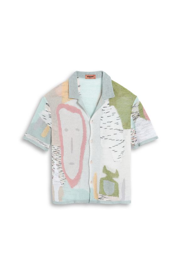MISSONI Men's shirts Green Man