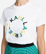 KARL LAGERFELD Circle Logo T-Shirt 9_f