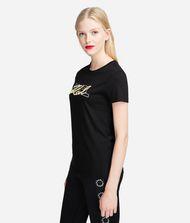 KARL LAGERFELD Double-Logo T-Shirt 9_f