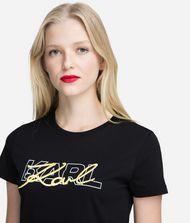 KARL LAGERFELD Double Logo T-Shirt 9_f