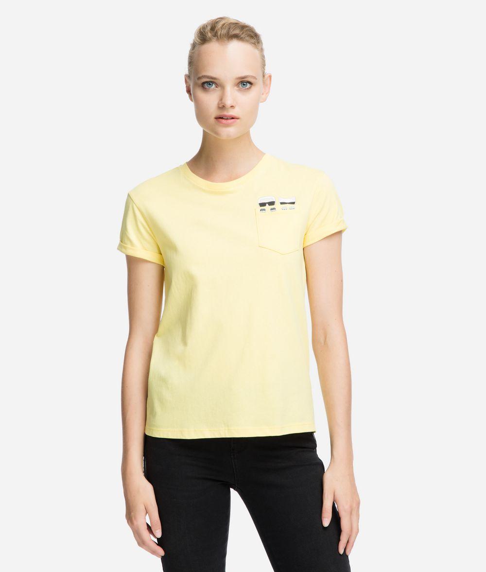 KARL LAGERFELD K/Ikonik Pocket T-Shirt T-shirt Woman f