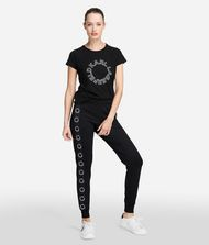 KARL LAGERFELD T-shirt Woman Circle Logo T-Shirt f