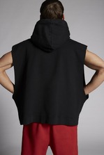 DSQUARED2 Mert & Marcus 1994 x Dsquared2 Sleeveless Slouch Hooded Sweatshirt Sweatshirt Man