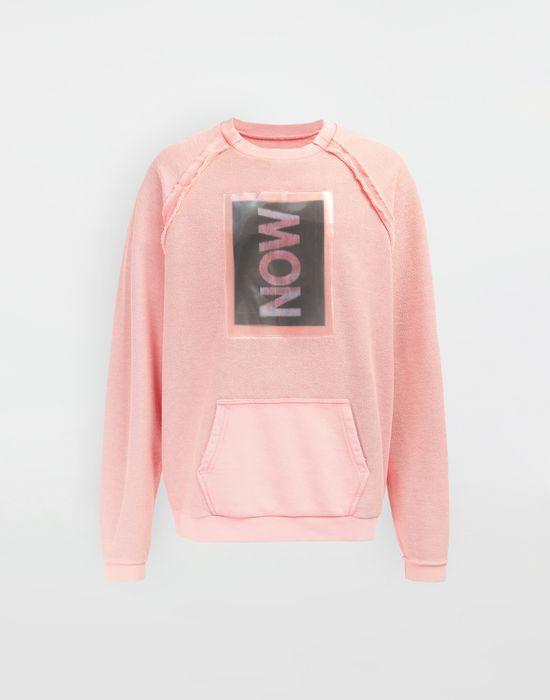 MAISON MARGIELA NOW print jersey sweatshirt Sweatshirt [*** pickupInStoreShippingNotGuaranteed_info ***] f