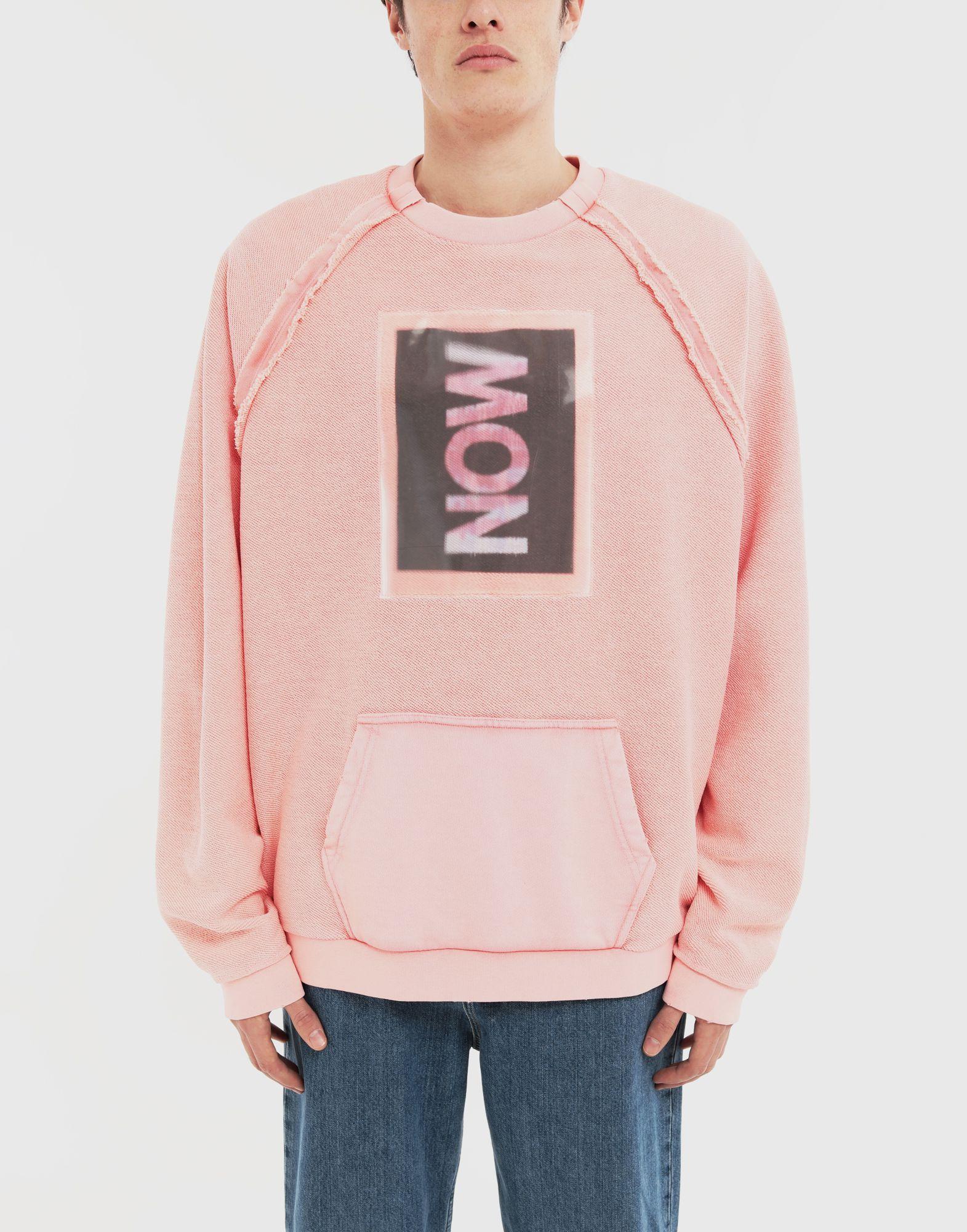 MAISON MARGIELA NOW print jersey sweatshirt Sweatshirt Man r