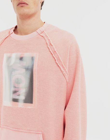 MAISON MARGIELA NOW print jersey sweatshirt Sweatshirt Man a