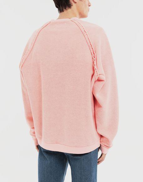 MAISON MARGIELA NOW print jersey sweatshirt Sweatshirt Man e