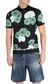 JUST CAVALLI Flamingo-flower-print polo shirt Polo shirt Man f
