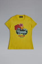 DSQUARED2 Hawaii T-Shirt Short sleeve t-shirt Woman