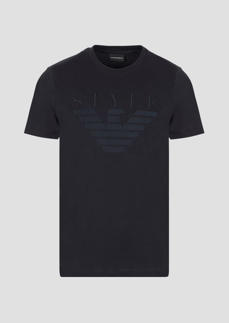 Mercerized jersey cotton T-shirt