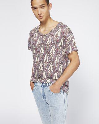 ISABEL MARANT T-SHIRT Man KARNABY T-shirt r