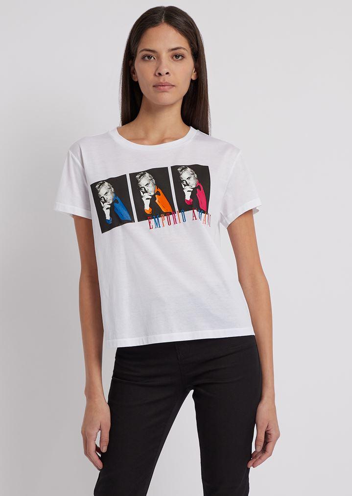 big sale 271c9 ab733 Tシャツ ジョルジオ アルマーニ ポップスタイルフォト