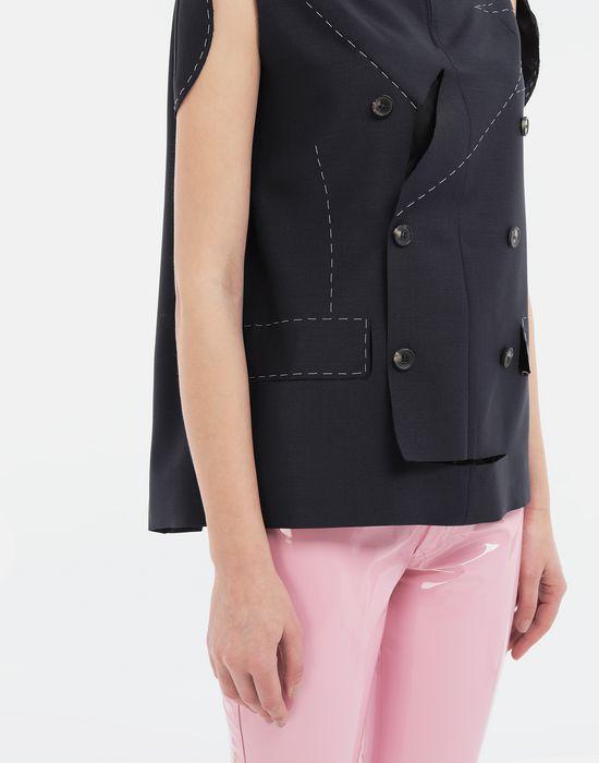 MAISON MARGIELA Tailored skirt cape top Top [*** pickupInStoreShipping_info ***] a
