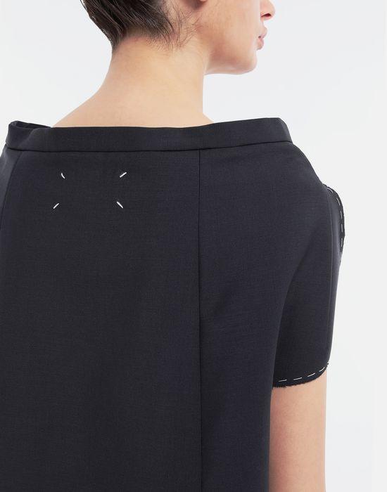 MAISON MARGIELA Tailored skirt cape top Top [*** pickupInStoreShipping_info ***] b
