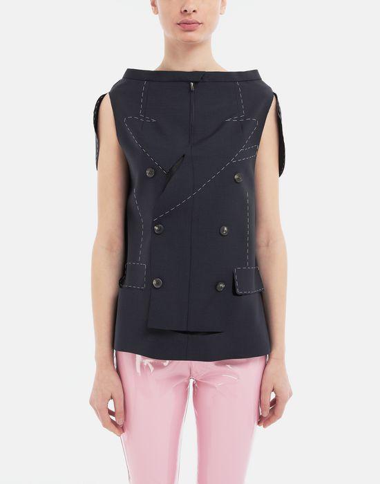 MAISON MARGIELA Tailored skirt cape top Top [*** pickupInStoreShipping_info ***] r