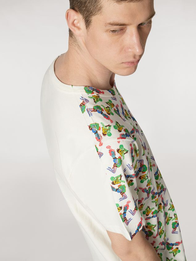 Marni T-shirt in lightweight cotton jersey print by Bruno Bozzetto Man - 4