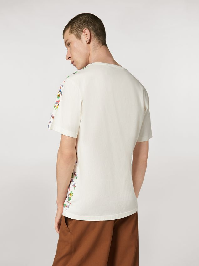 Marni T-shirt in lightweight cotton jersey print by Bruno Bozzetto Man - 3