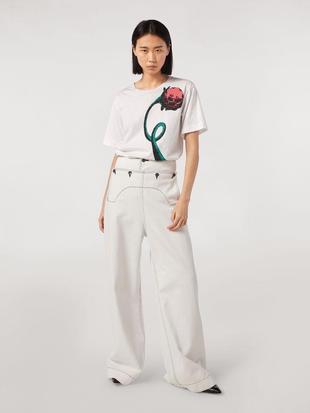 Marni Jersey T-shirt Bolero print by Bruno Bozzetto Woman - 5