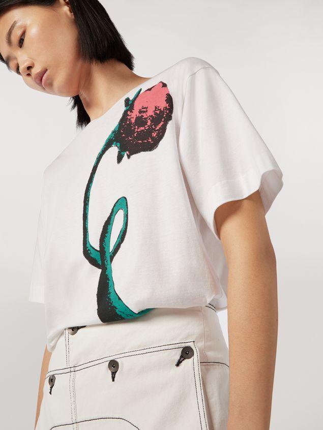 Marni Jersey T-shirt Bolero print by Bruno Bozzetto Woman - 4