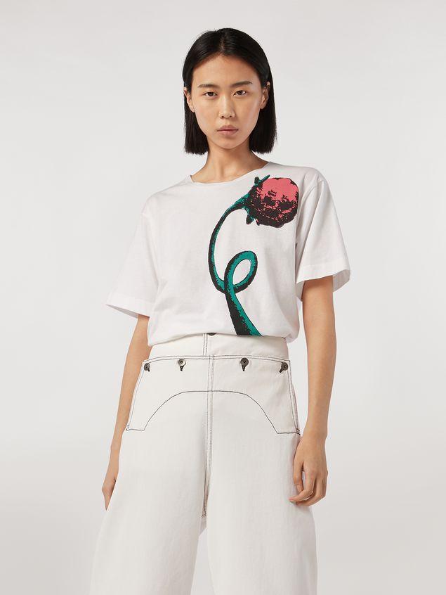 Marni Jersey T-shirt Bolero print by Bruno Bozzetto Woman - 1