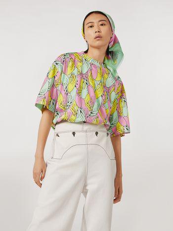 Marni Cotton jersey T-shirt Prelude print  by Bruno Bozzetto Woman