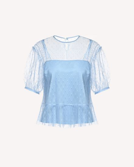 REDValentino Blusa Mujer RR0AAA401GK IQ8 a
