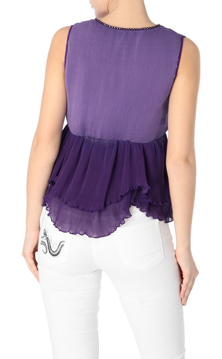 JUST CAVALLI Ruffled top Top Woman r