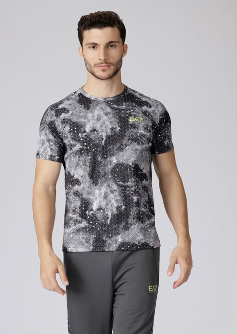 Sweater in Ventus7 fabric with graphics print