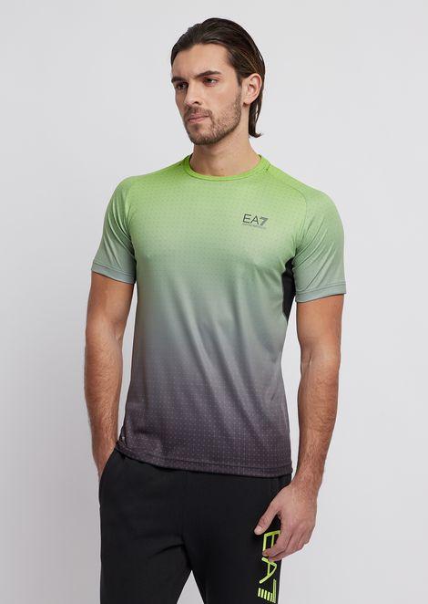 Shirt aus Ventus7-Funktionsgewebe mit grafischem Print