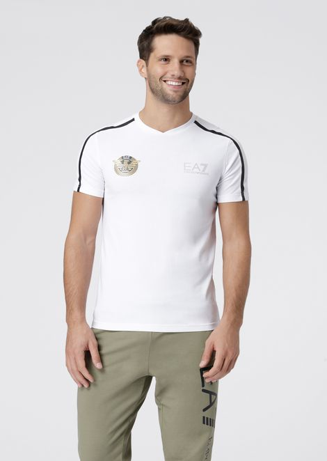 Soccer Archive polo in stretch jersey