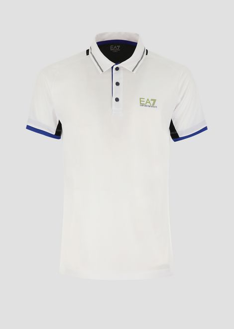 Tennis Pro polo in breathable fabric