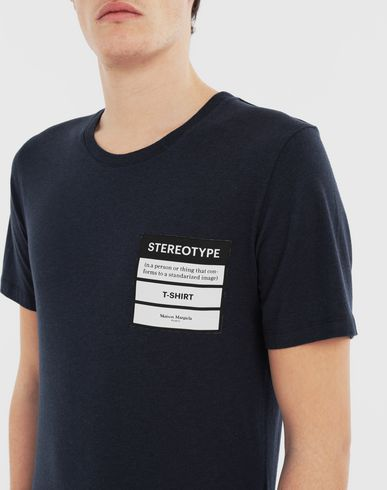 TOPS Stereotype T-shirt Blue