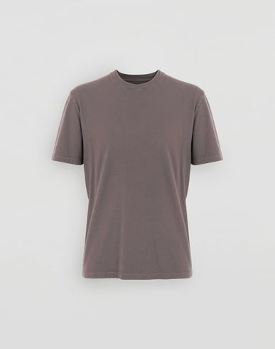TOPS Cotton T-shirt Purple