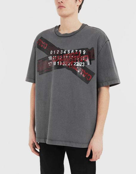 MAISON MARGIELA 'Caution' T-shirt Short sleeve t-shirt Man r