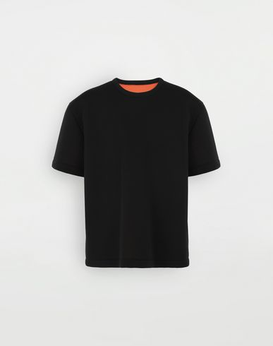 MAISON MARGIELA Scuba oversized top Short sleeve t-shirt Man f